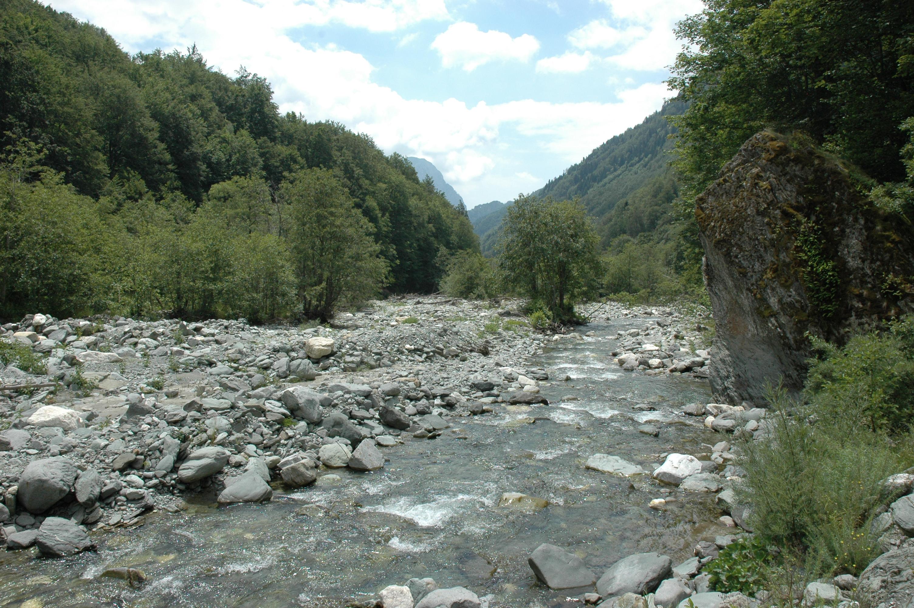 Lumi i Gashit Riverbed Albania