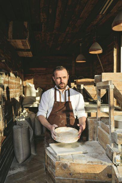 Photo of Slow Food chef Bledar Kola